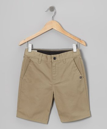 Khaki Vmonty Shorts - Toddler & Boys