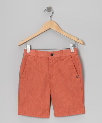 Orange Vmonty Shorts - Toddler & Boys