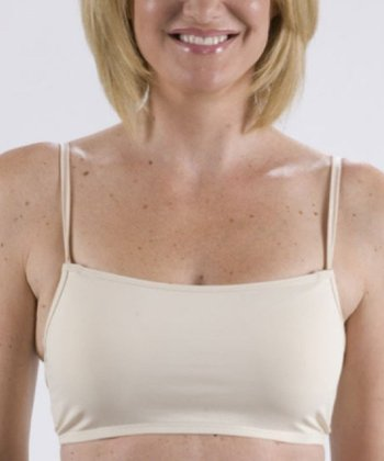 Nude Chickies Cleavage Coverage Faux Camisole - Women
