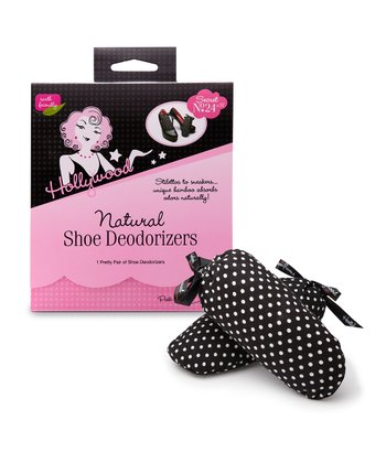 Polka Dot Shoe Deodorizer Pillows