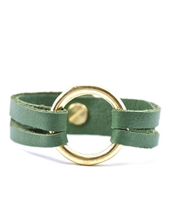 Green & Gold Mini-Henri Bracelet