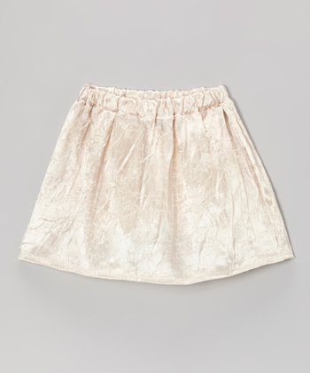 Gold Sheen Skirt