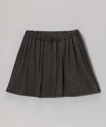 Dark Heather Gray Skirt
