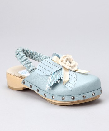 Pale Blue Whitney Clog