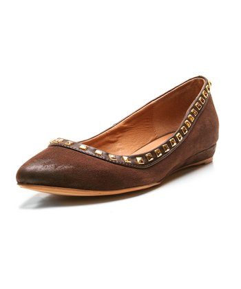 Brown Too Skittle Ballet Flat