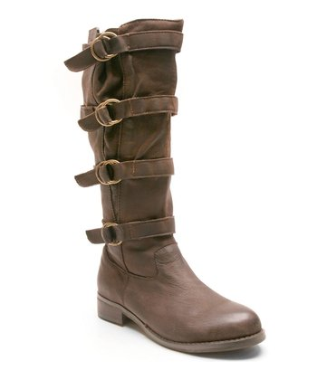 Dark Brown Jaguar Boot