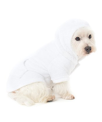 White In the Clouds Pet Hoodie