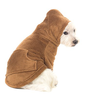 Brown Teddy Bear Pet Hoodie