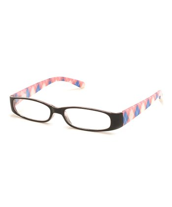 Black & Pink Polly Reading Glasses