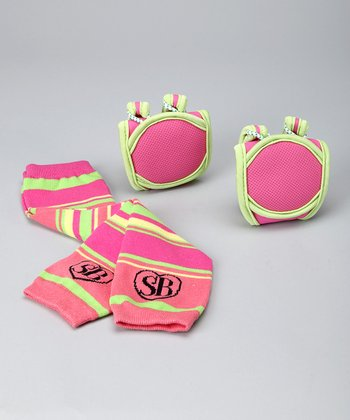 Pink Pizzazz Knee Pads & Leg Warmers