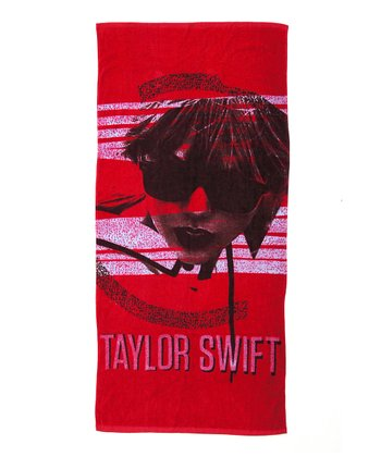 Red Sunglasses Beach Towel