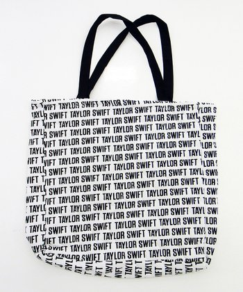 Black Signature Tote