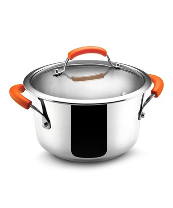 Steel 4-Qt. Covered Sauce Pot
