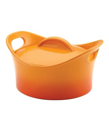 Orange 2.75-Qt. Round Baking Dish