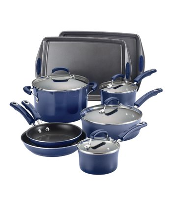 Purple Gradient 12-Piece Cookware Set