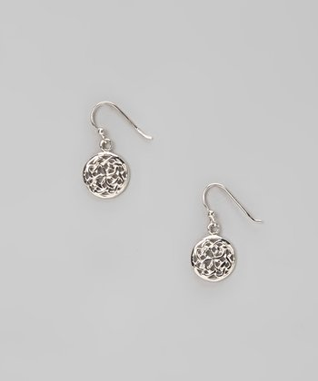 Sterling Silver Weave Stud Earrings