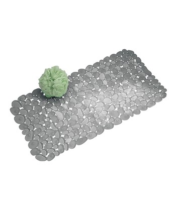 Graphite Pebblz Bath Mat