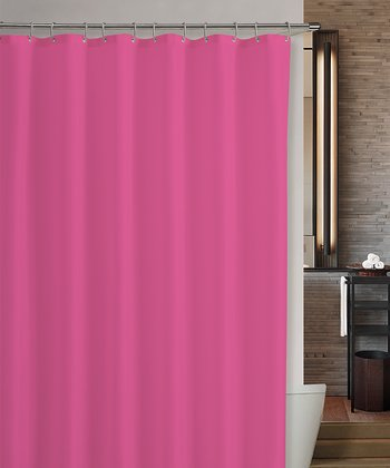 Pink Marcy Shower Curtain