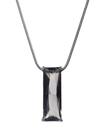 Black Diamond SWAROVSKI ELEMENTS Illusions Pendant Necklace