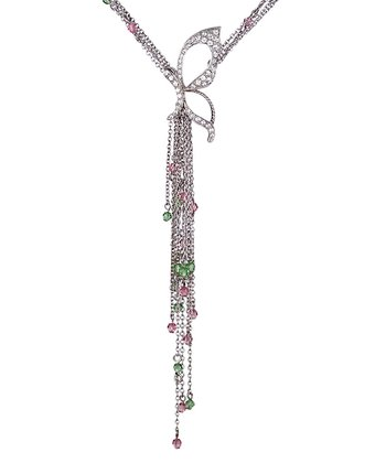 Light Rose SWAROVSKI ELEMENTS Awakening Pendant Necklace