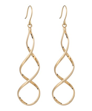 Gold Spirals Earrings