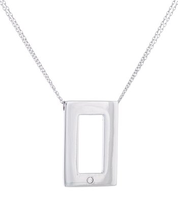 Sterling Silver Hollywood Pendant Necklace