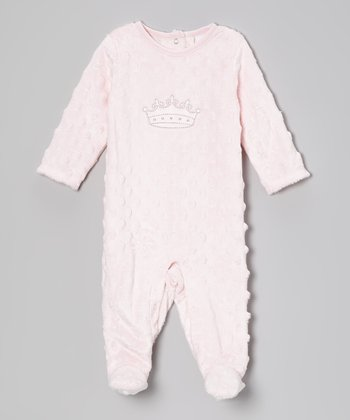 Pink Princess Footie - Infant