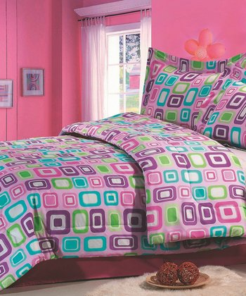 Candy Full Comforter Set