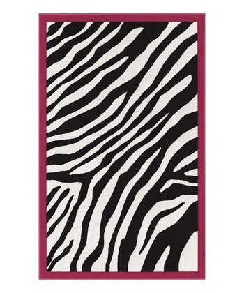 Black Zebra 4-Ever Young Rug
