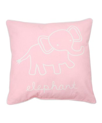 Rose Harbor Elephant Throw Pillow
