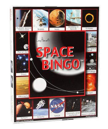 Space Bingo Game