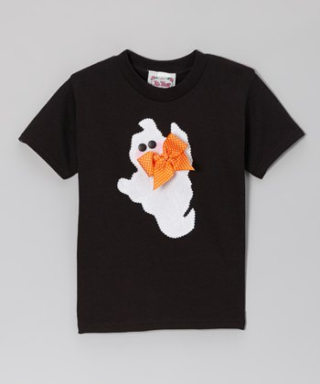Black Ghost Tee - Girls