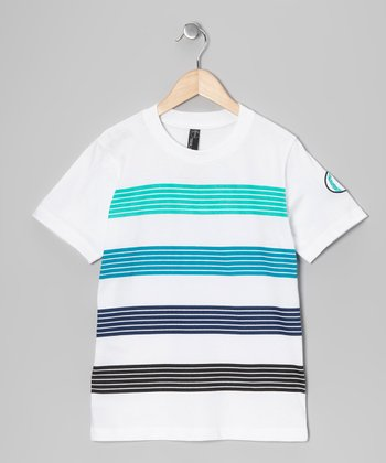 White Philipp Tee - Boys