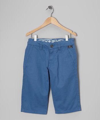 Blue Mine Rino Chino Shorts - Boys