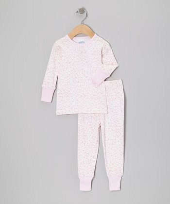 Pink Daisy Pajama Set - Infant, Toddler & Girls