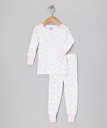 Pink Bouquet Pajama Set - Infant & Toddler