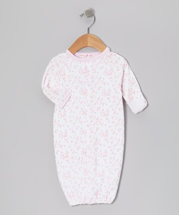 Pink Clouds Convertible Gown - Infant
