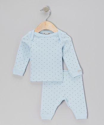 Blue Star Pajama Set - Infant