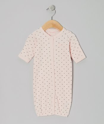 Pink Hearts Convertible Gown - Infant