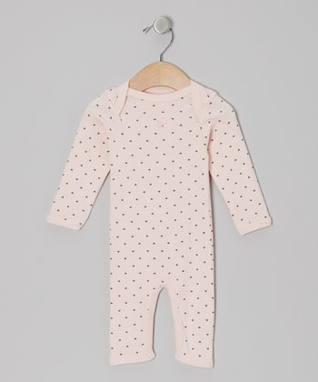 Pink Star Playsuit - Infant