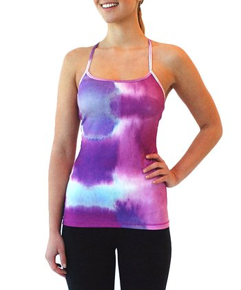 Purple Rain Lotus Racerback Tank