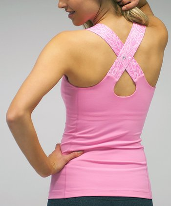 Pink Lemonade Endurance Cross-Back Tank