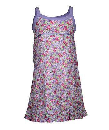 Lilac Summer Garden Nightgown - Toddler & Girls