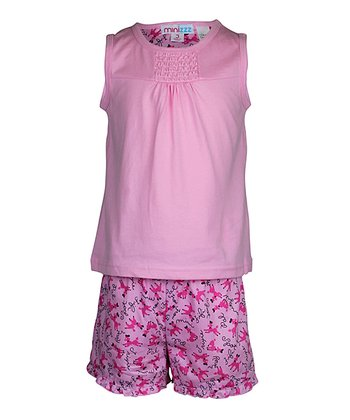 Pink Poodle Pajama Set - Toddler & Girls
