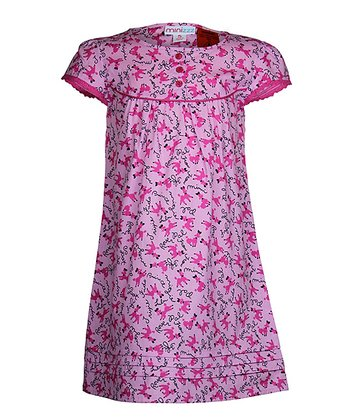 Pink Poodle Nightgown - Toddler & Girls