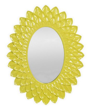 Yellow Sunflower Wall Mirror