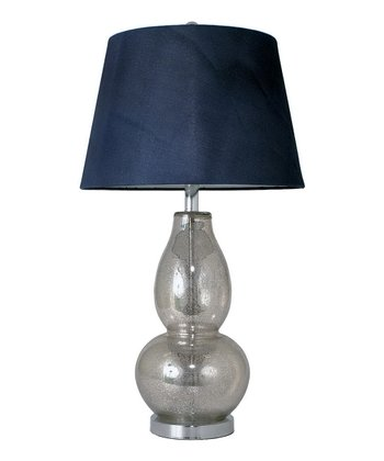 Slender Mercury Glass Table Lamp