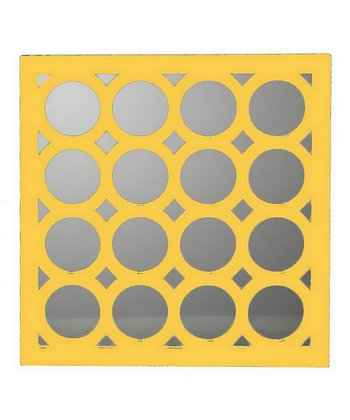 Yellow Circle Wall Art