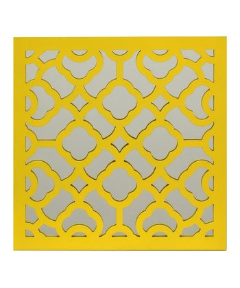 Yellow Decorative Wall Art