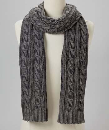 Medium Heather Gray Scarf